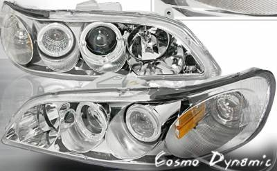 Headlights & Tail Lights - Headlights - Custom - Dual Halo Pro Headlights