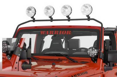 SUV Truck Accessories - Light Bars - Warrior - Toyota FJ Cruiser Warrior Light Bar - 3850