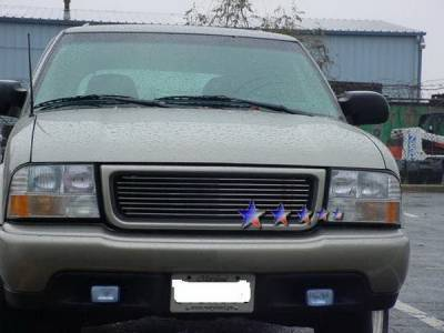 Grilles - Custom Fit Grilles - APS - GMC Sonoma APS Billet Grille - Upper - Stainless Steel - G85046S