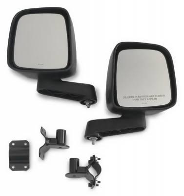 Wrangler - Mirrors - Warrior - Jeep Wrangler Warrior Mirror Mount Kit - 1419