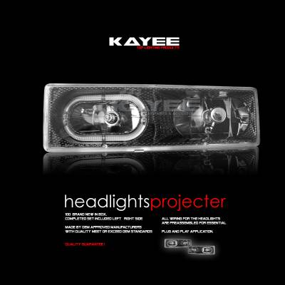 Headlights & Tail Lights - Headlights - Custom - JDM Carbon Headlights