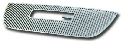 Grilles - Custom Fit Grilles - APS - GMC Yukon APS CNC Grille - with Logo Opening - Upper - Aluminum - G95778V