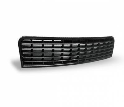 Grilles - Custom Fit Grilles - 4CarOption - Audi A4 4CarOption Front Hood Grille - GR-A40105-BK