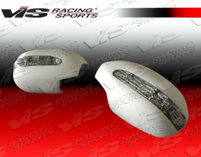 Body Kits - Mirrors - VIS Racing - Nissan 300Z VIS Racing VIP Mirror Covers with LED Turn Signal - 90NS3002DVIP-014