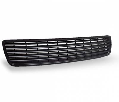 Grilles - Custom Fit Grilles - 4CarOption - Audi A4 4CarOption Front Hood Grille - GR-A49600-BK