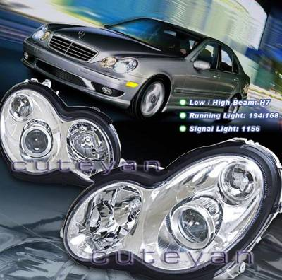 Headlights & Tail Lights - Headlights - Custom - Crystal Clear Pro Headlights