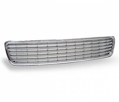 Grilles - Custom Fit Grilles - 4CarOption - Audi A4 4CarOption Front Hood Grille - GR-A49600-CR