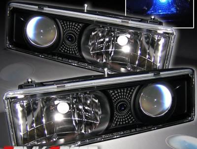 Headlights & Tail Lights - Headlights - Custom - JDM Black LED Pro Headlights
