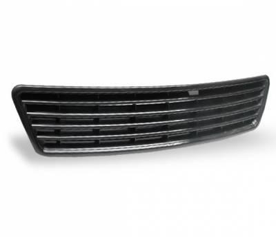 Grilles - Custom Fit Grilles - 4CarOption - Audi A6 4CarOption Front Hood Grille - GR-A69804-BK