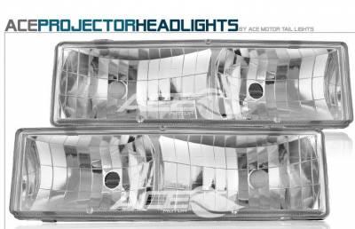 Headlights & Tail Lights - Headlights - Custom - All Clear Headlights