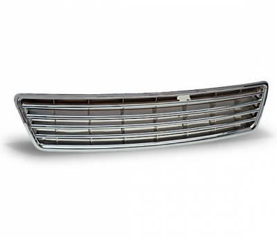 Grilles - Custom Fit Grilles - 4CarOption - Audi A6 4CarOption Front Hood Grille - GR-A69804-CR