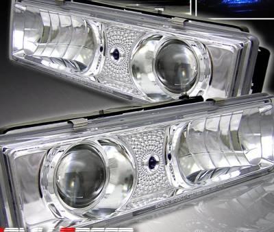 Headlights & Tail Lights - Headlights - Custom - JDM Chrome LED Pro Headlights