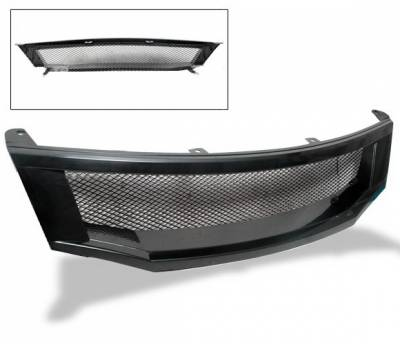Grilles - Custom Fit Grilles - 4CarOption - Honda Accord 4CarOption Front Hood Grille - GR-AC0809TR-BK