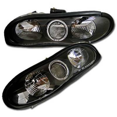 Headlights & Tail Lights - Headlights - Custom - Black Halo Headlights