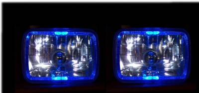 Headlights & Tail Lights - Headlights - Custom - Angel Eye Halo  Headlights