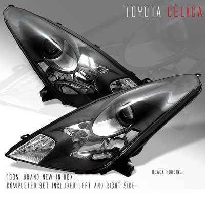 Headlights & Tail Lights - Headlights - Custom - JDM Black Pro Headlights