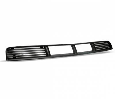 Grilles - Custom Fit Grilles - 4CarOption - Ford Mustang 4CarOption Front Hood Grille - GRB-MST0506V6G-BK