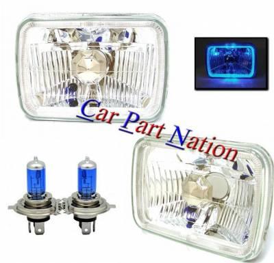 Headlights & Tail Lights - Headlights - Custom - Diamond Clear LED Headlights