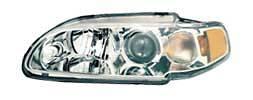 Headlights & Tail Lights - Headlights - Custom - HID-Xenon Chrome Projector Headlights