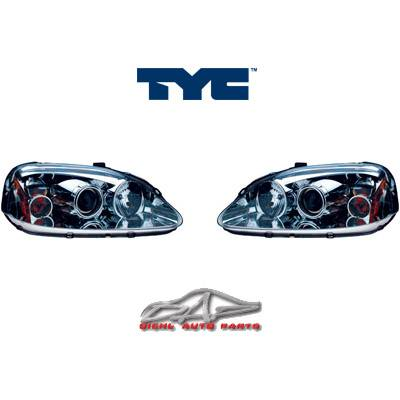 Headlights & Tail Lights - Headlights - Custom - Chrome Euro Headlights