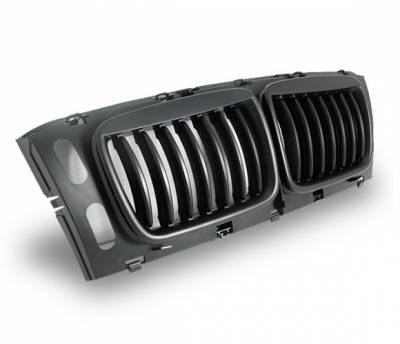 Grilles - Custom Fit Grilles - 4CarOption - BMW 5 Series 4CarOption Front Hood Grille - GR-E3494956BB-A