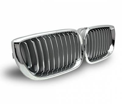 4CarOption - BMW 3 Series 4CarOption Front Hood Grille - GR-E4602034XCS-A