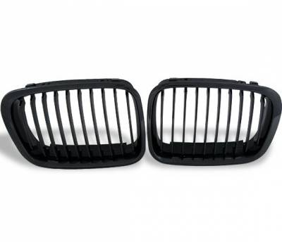 4CarOption - BMW 3 Series 4CarOption Front Hood Grille - GR-E4698014XB-A