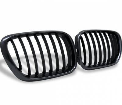 Grilles - Custom Fit Grilles - 4CarOption - BMW X5 4CarOption Front Hood Grille - GR-E530003XB-A