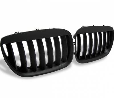 Grilles - Custom Fit Grilles - 4CarOption - BMW X5 4CarOption Front Hood Grille - GR-E5304066B-A