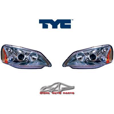 Headlights & Tail Lights - Headlights - Custom - Chrome Euro Pro Headlights