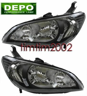 Headlights & Tail Lights - Headlights - Custom - Black Depo Headlights