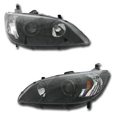 Headlights & Tail Lights - Headlights - Custom - Black Halo Pro Headlights
