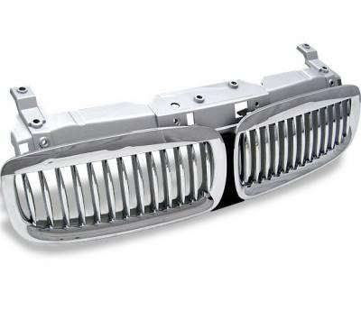 Grilles - Custom Fit Grilles - 4CarOption - BMW 7 Series 4CarOption Front Hood Grille - GR-E660204XCS-A