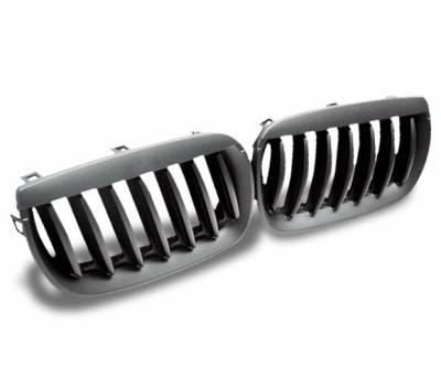 Grilles - Custom Fit Grilles - 4CarOption - BMW X3 4CarOption Front Hood Grille - GR-E8304066B-A