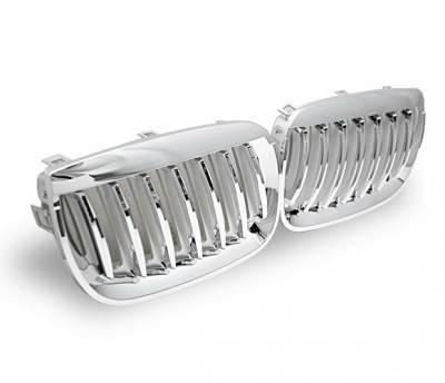 Grilles - Custom Fit Grilles - 4CarOption - BMW X3 4CarOption Front Hood Grille - GR-E8304066CS-A
