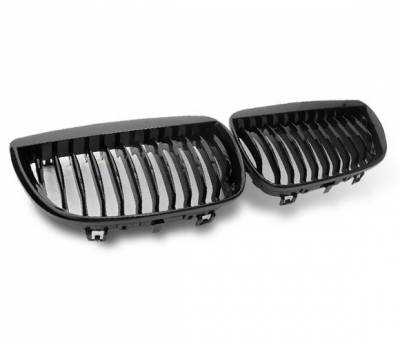 4CarOption - BMW 1 Series 4CarOption Front Hood Grille - GR-E870506XB-A