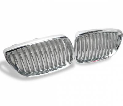 4CarOption - BMW 3 Series 4CarOption Front Hood Grille - GR-E920608XCS-A