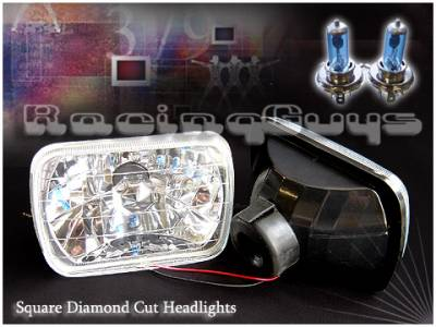 Headlights & Tail Lights - Headlights - Custom - Crystal Cut Headlights