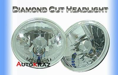 Headlights & Tail Lights - Headlights - Custom - Diamond Cut Headlights