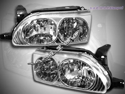 Headlights & Tail Lights - Headlights - Custom - Euro Clear Headlights