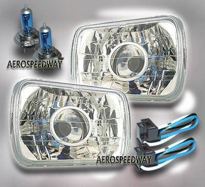 Headlights & Tail Lights - Headlights - Custom - Diamond Xenon Headlights