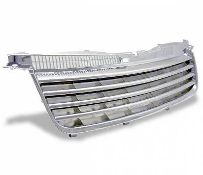 Grilles - Custom Fit Grilles - 4CarOption - Volkswagen Passat 4CarOption Front Hood Grille - GR-PST0205-CR
