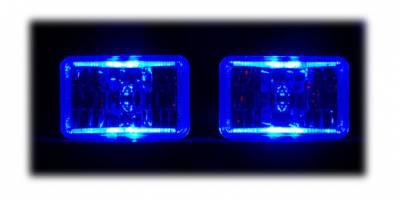 Headlights & Tail Lights - Headlights - Custom - Halo Angel Eye Headlights
