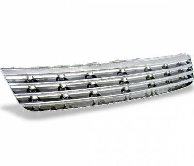 Grilles - Custom Fit Grilles - 4CarOption - Volkswagen Passat 4CarOption Front Hood Grille - GR-PST9701-CR