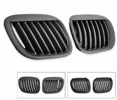 Grilles - Custom Fit Grilles - 4CarOption - BMW Z3 4CarOption Front Hood Grille - GR-Z39602XB-A