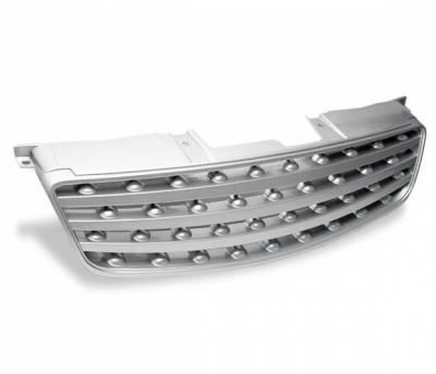 Grilles - Custom Fit Grilles - 4CarOption - Nissan Altima 4CarOption Front Hood Grille - GRZ-ATM0206-SL