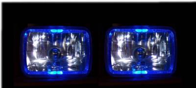 Headlights & Tail Lights - Headlights - Custom - Angel Eye Halo Headlights