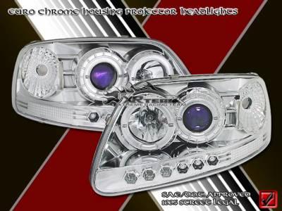 Headlights & Tail Lights - Headlights - Custom - Euro Chrome Pro LED Headlights