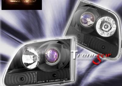 Headlights & Tail Lights - Headlights - Custom - Black Pro 2 LED Headlights
