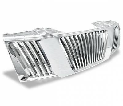Grilles - Custom Fit Grilles - 4CarOption - Nissan 4CarOption Front Hood Grille - GRZ-FRTR0506-CM